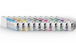 Impresora Epson SureColor SC-P7000, sus tintas