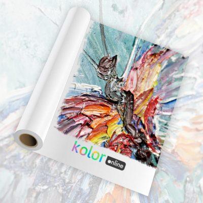 Lienzo artístico canvas flexible sintetico mate 350mc