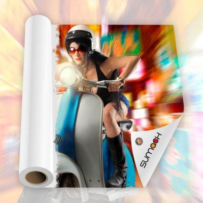 Lona Sumach backlight 610 gr para banners | rollups | rotulos