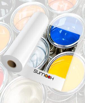 Vinilo blanco mate blockout Sumach premium adhesivo removible 100 mc