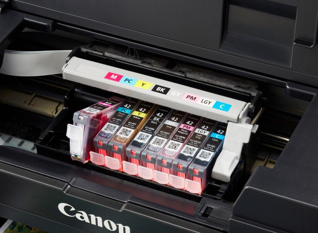 Cartuchos de tinta Canon Pixma Pro-100S
