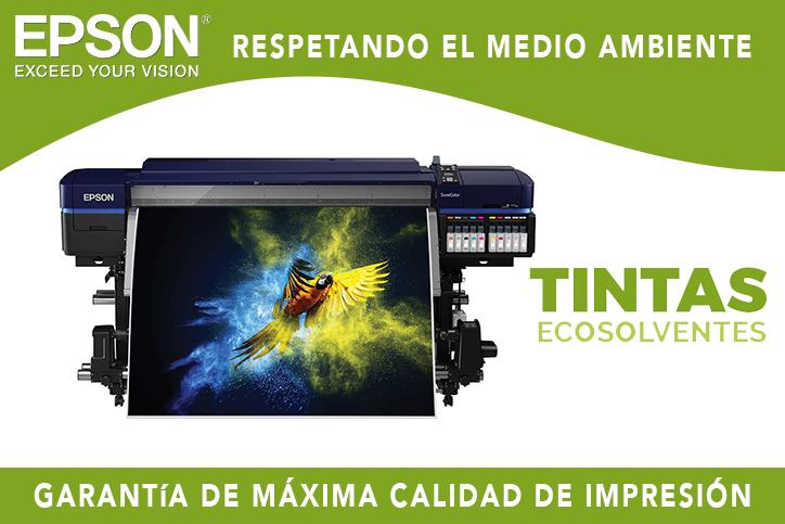 Epson SureColor SC S-80600 con tintas ecosolventes