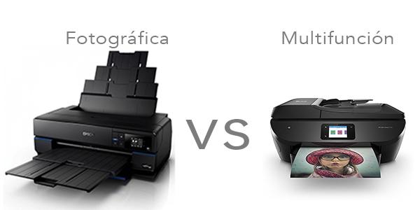 Impresoras fotograficas vs multifunciones