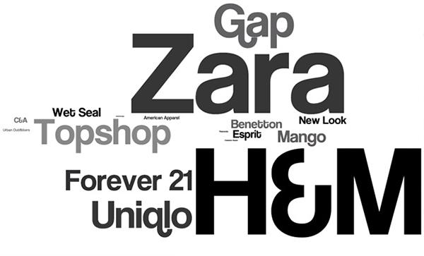 Zara,H&M