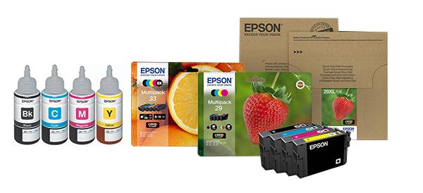 Tintas pigmentadas Epson