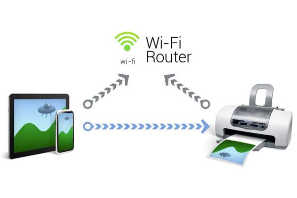 impresión con conexiones WIFI
