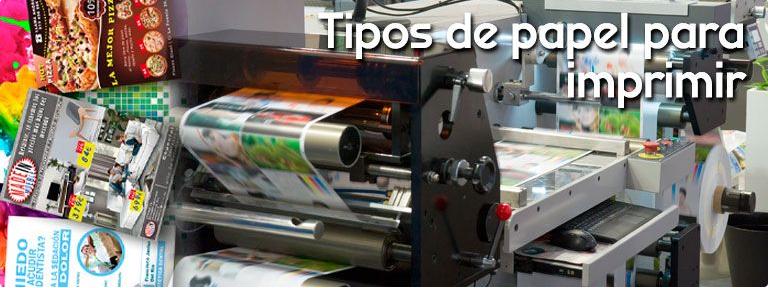 Papel mate y tipos de papel para imprimir