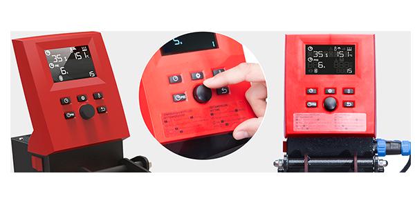 Control intuitivo de plancha térmica para transfer