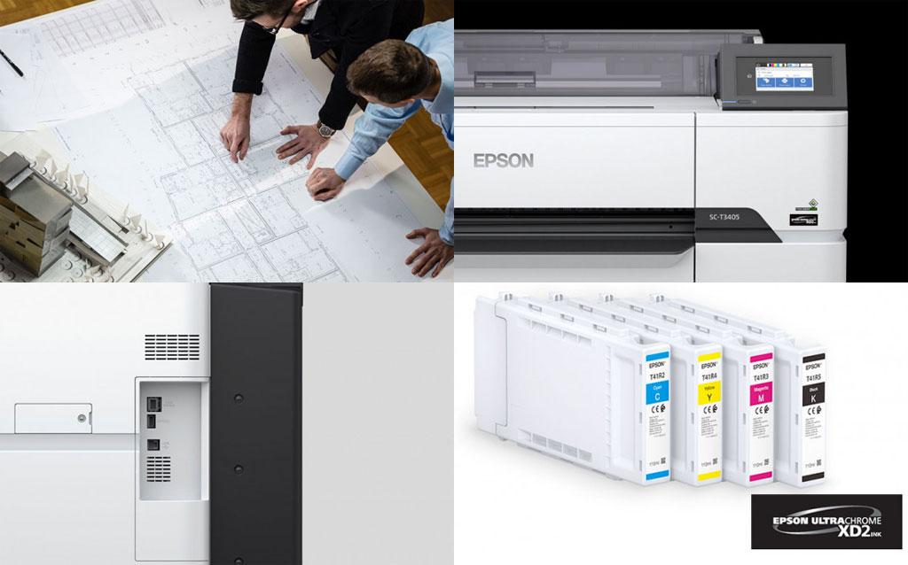 impresora epson t3405 características, tintas...
