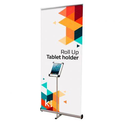 Roll Up Tablet Holder