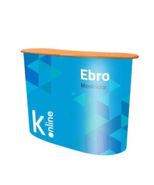 Mostrador publicitario Ebro