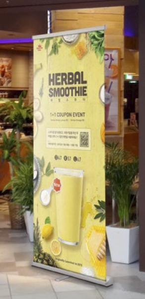 rollup banner duero