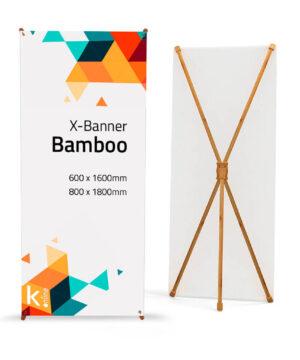 X banner bamboo