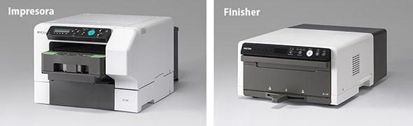 Impresora y finalizador Ricoh Ri100