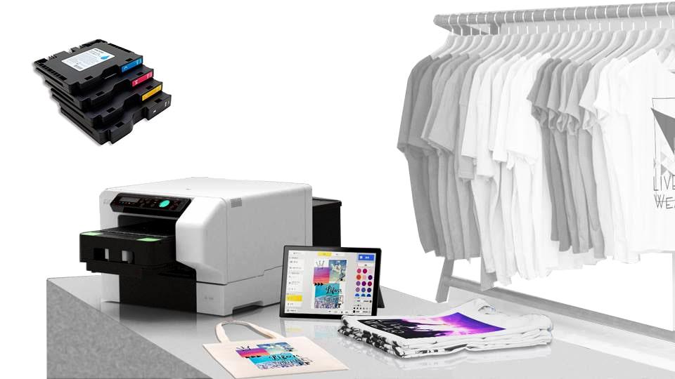 impresora de camisetas con cartuchos