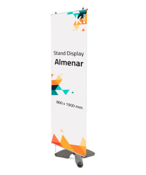 Banner exterior almenar display
