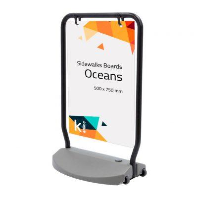 Cartel publicitario Oceans01
