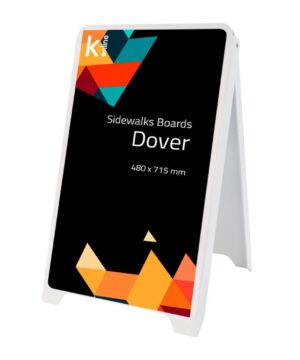 Caballete de pizarra Dover