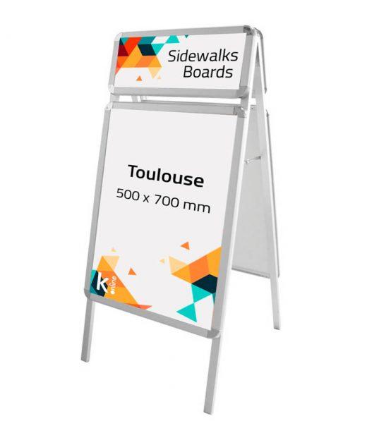 Caballete publicitario Aluminio Toulouse_01