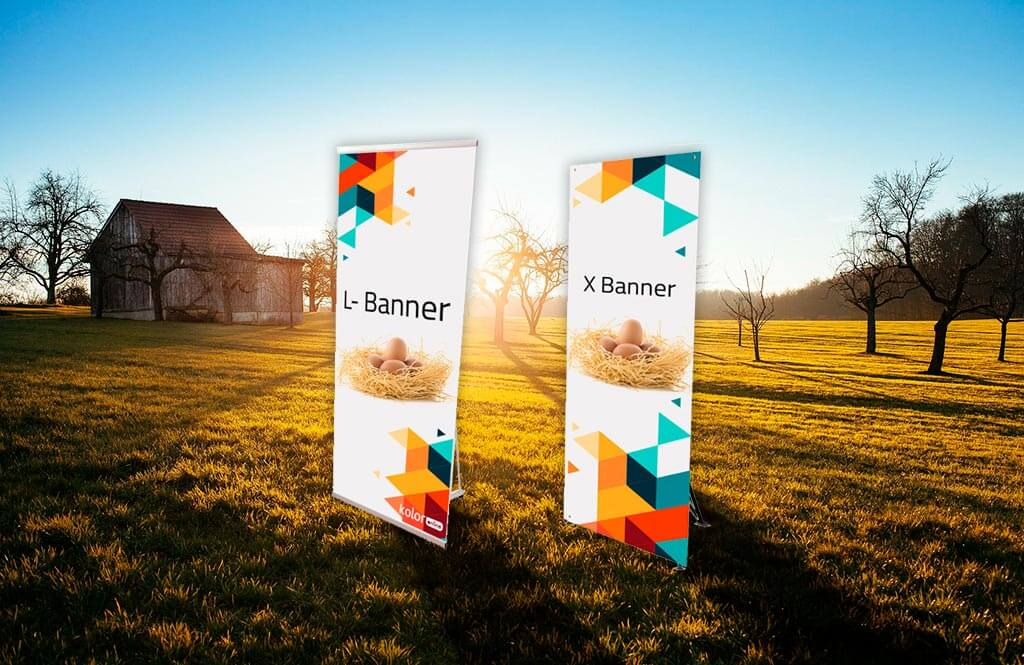 L-Banners y X-Banners Económicos