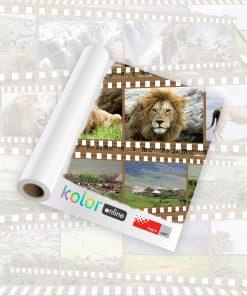 Papel fotográfico semimate KOn certificado Fogra 200g
