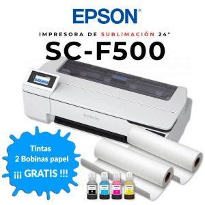 Epson-F500-con-rollos-de-regalo