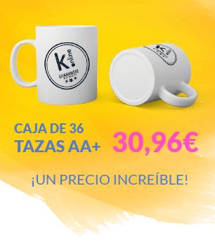 Oferta tazas AA+