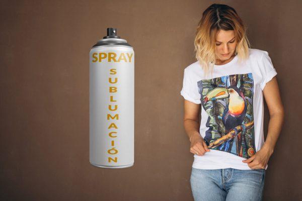 Spray-sublimación