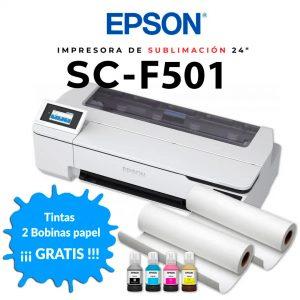 Epson F501 fluor + rollos regalo