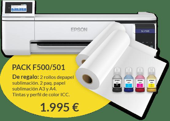 Pack surecolor F500 y F501