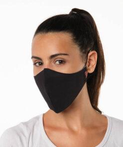 mascarilla negra profesional coronavirus