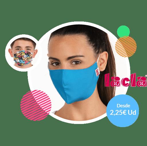 mascarillas para coronavirus lacla