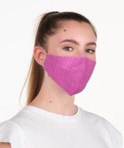 mascara lacla tejano fucsia