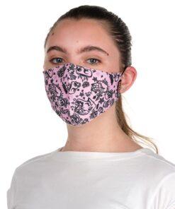 mascara lacla tattoo rosa