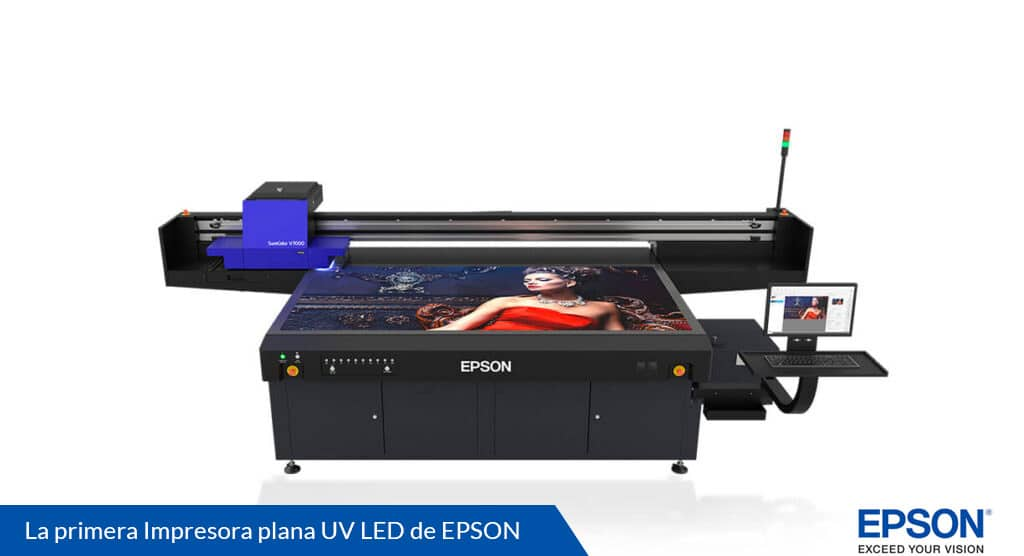 Impresora EPSON UV LED Surecolor SC-V7000