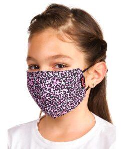 mascara lacla leopardo rosa