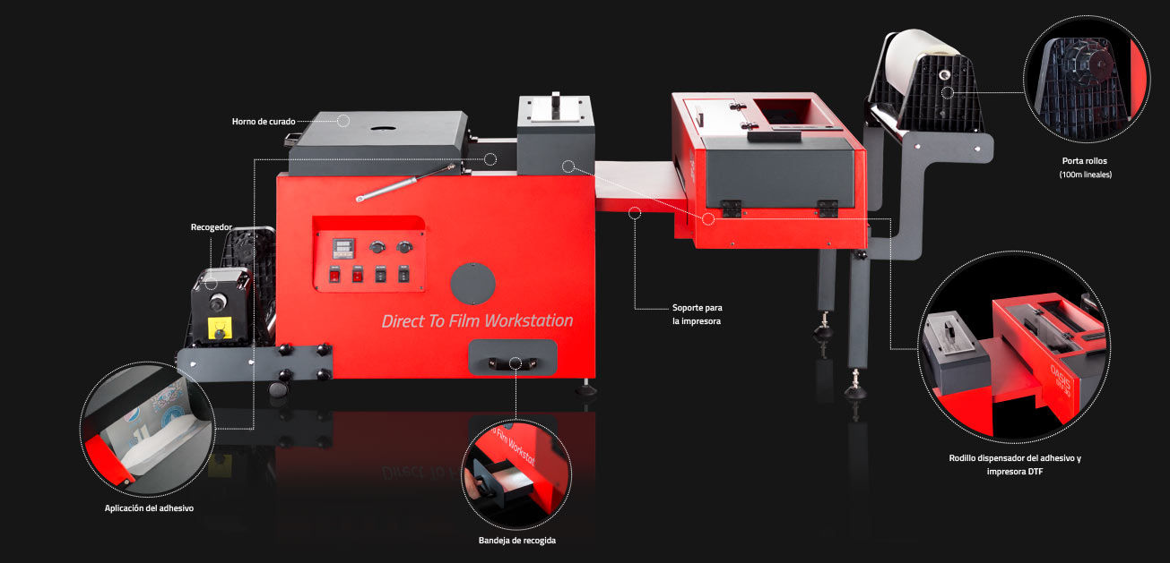 impresora dtf con horno