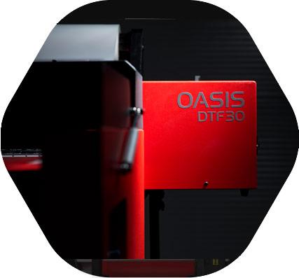 impresora oasis dtf produccion